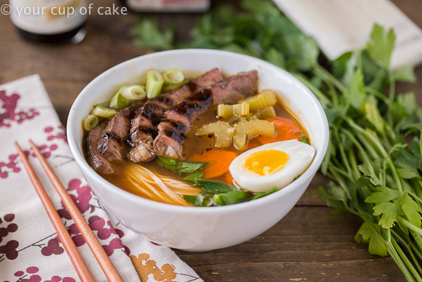 Japanese Noodle Bowls