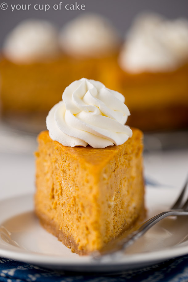 Ultimate Pumpkin Cheesecake that's better than the Cheesecake Factory