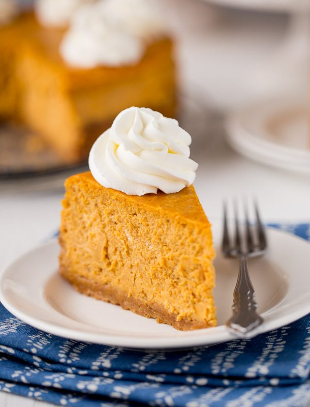 Ultimate Pumpkin Cheesecake Recipe, OH MY! This is incredible!