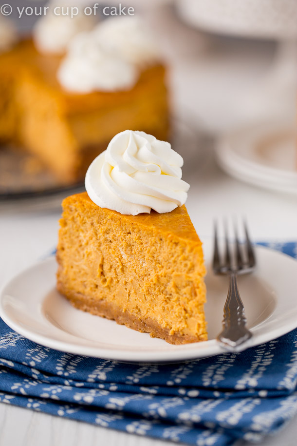 Ultimate Pumpkin Cheesecake Better Than The Cheesecake Factory Your Cup Of Cake