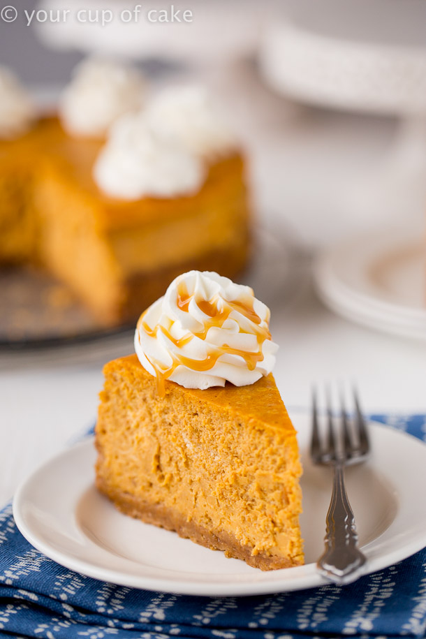 Better than the Cheesecake Factory Ultimate Pumpkin Cheesecake
