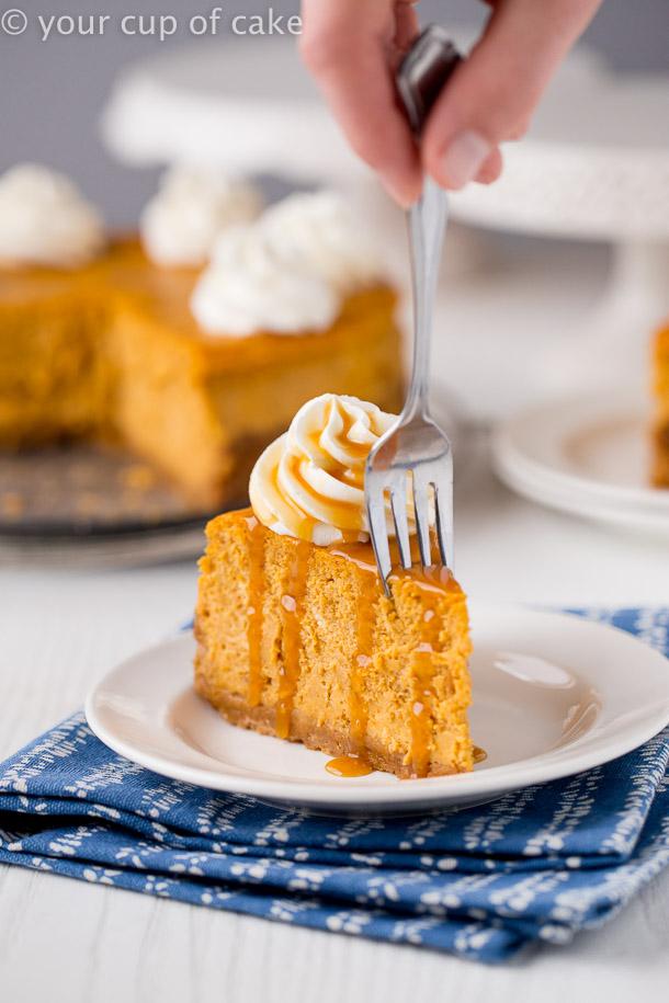 Ultimate Pumpkin Cheesecake