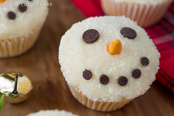 Easy To Make Snowman Cupcakes Your