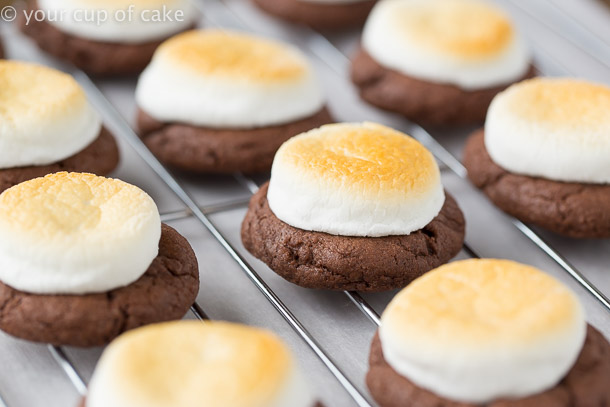 Hot Chocolate Cookies only 4 ingredients!