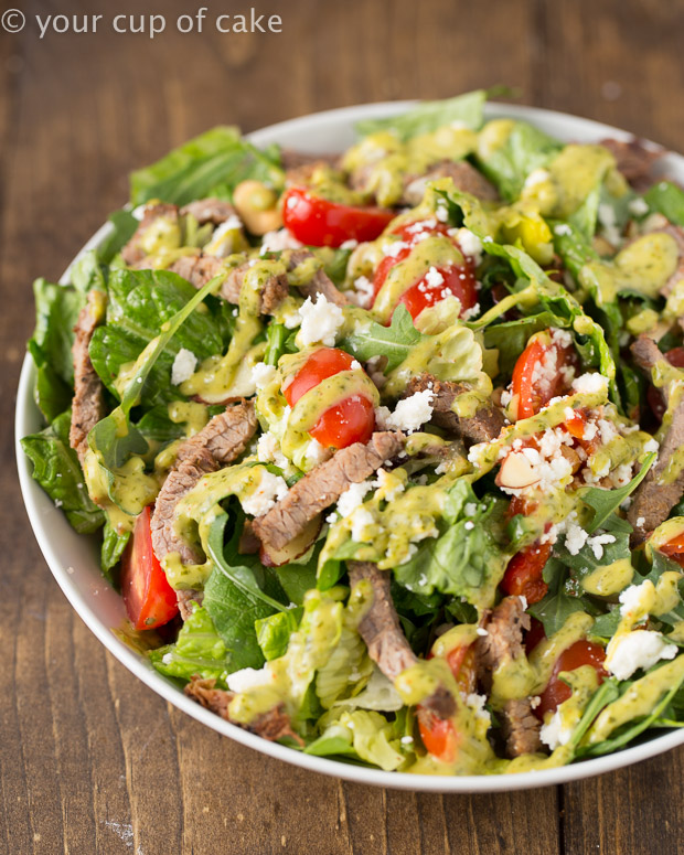 Cubby's Copy Cat Steak Salad