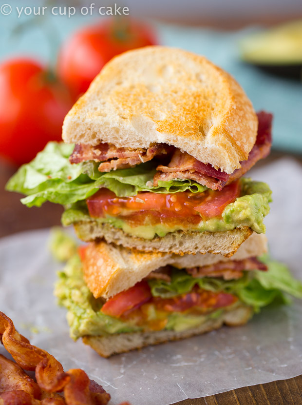 This Guacamole BLT is AMAZING!