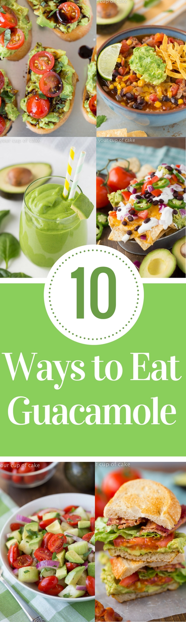 10 Ways to Eat Guacamole