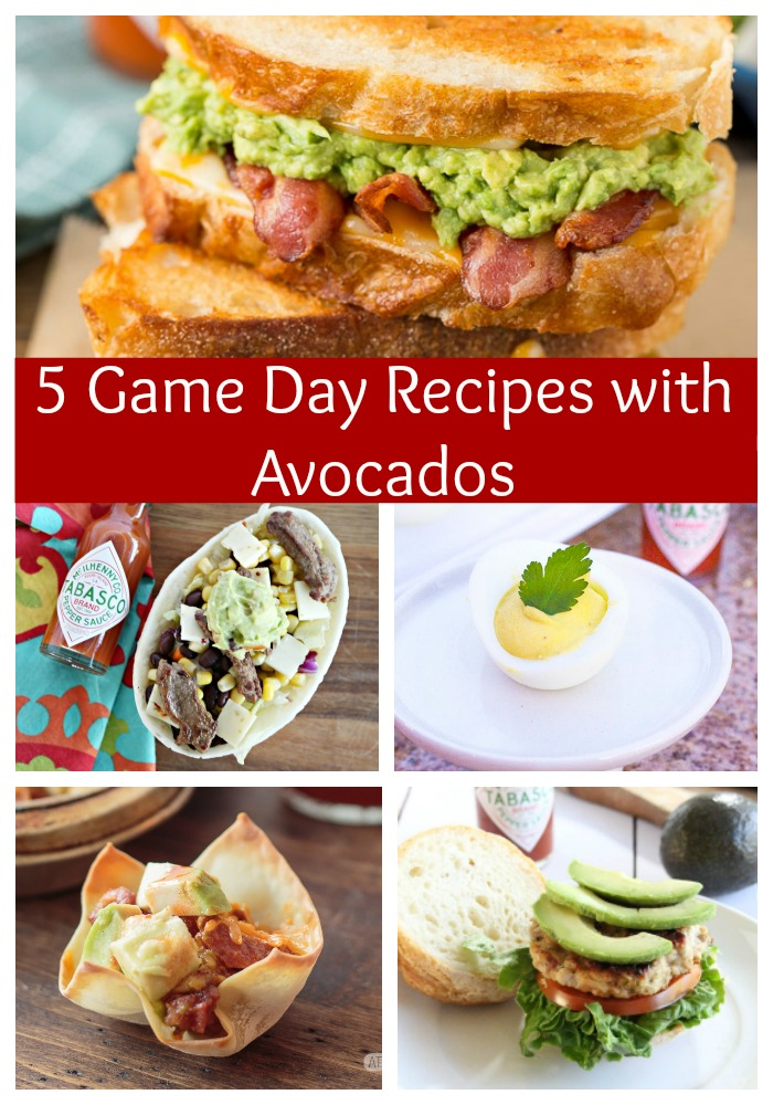 5 Game Day Foods with Avocados!