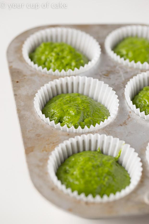 How to make Sweet Spinach Muffins AKA Green Machine Spinach Muffins