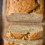 Skinny Banana Bread (Low Sugar + Low Fat)