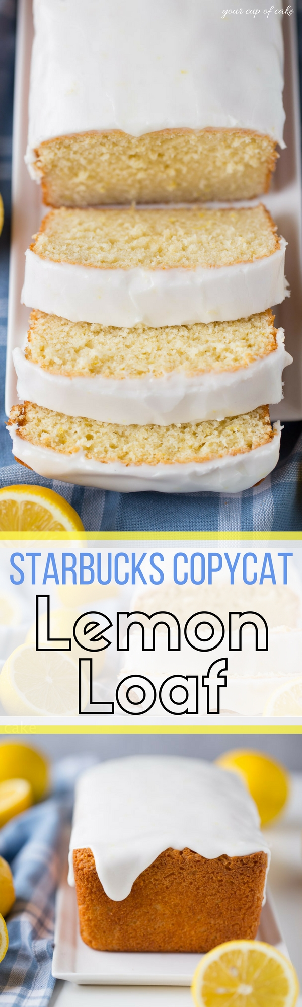 LOVE this Copycat Starbucks Lemon Loaf Recipe