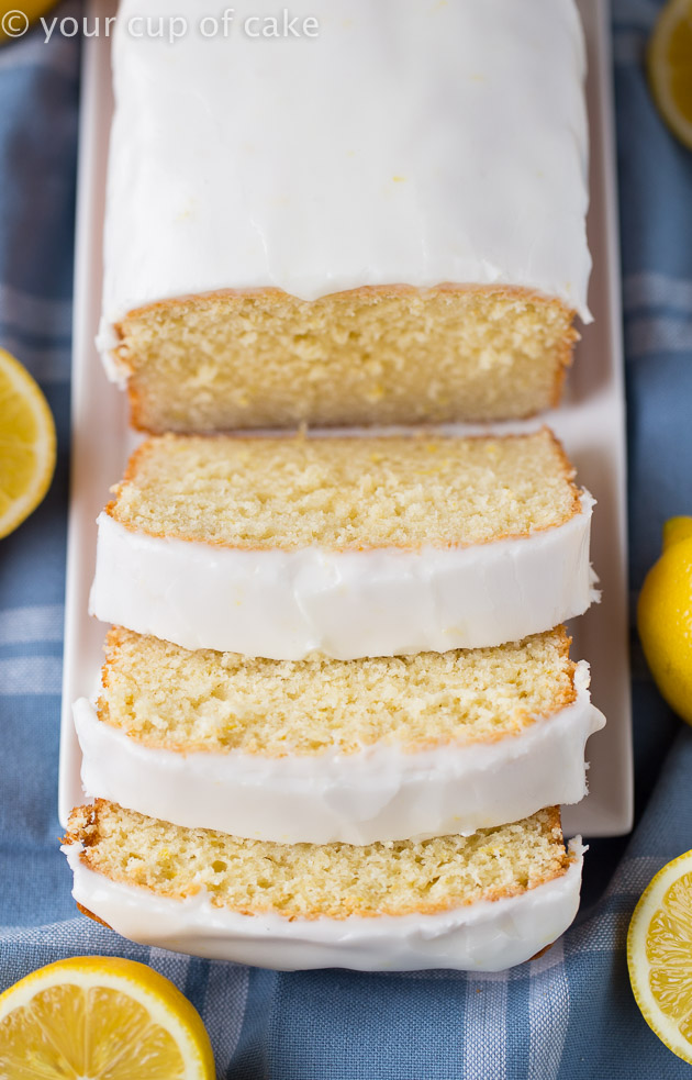 AMAZING! Iced Copycat Starbucks Lemon Loaf