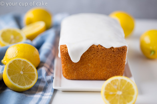The recipe for Copycat Starbucks Lemon Loaf