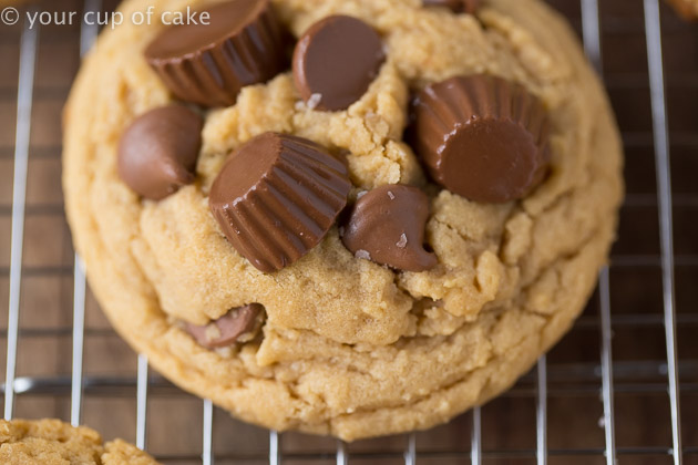 Decadent, Over the Top Reese's Peanut Butter Cup Cookies
