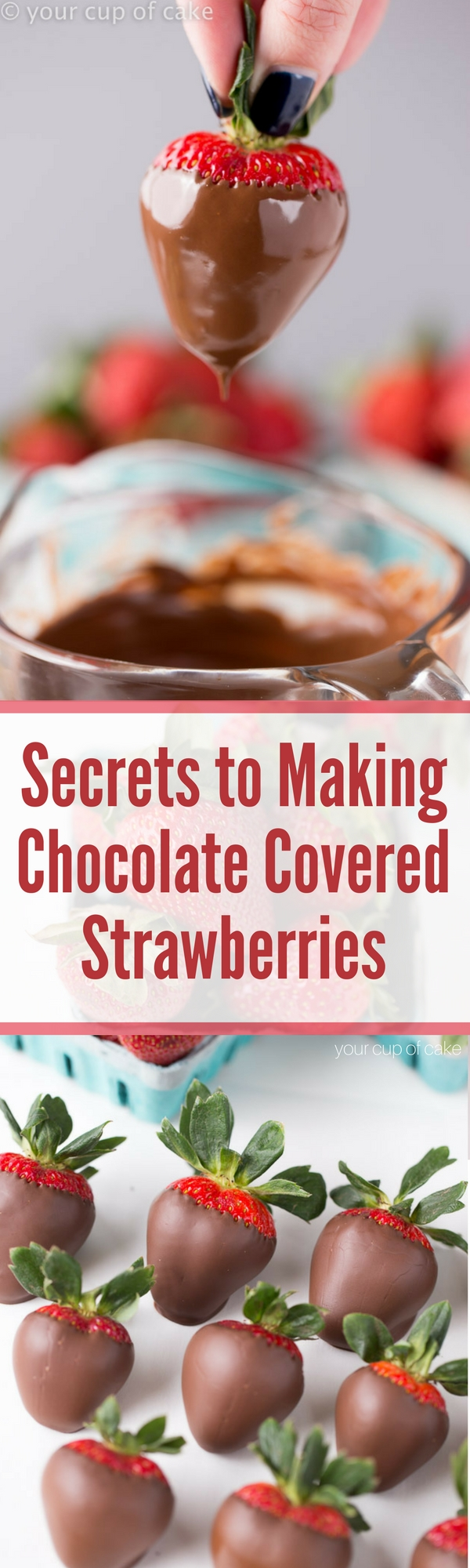 The Secrets to Making Perfect Chocolate Covered Strawberries