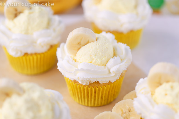 Ultimate Banana Cream Pie Cupcakes