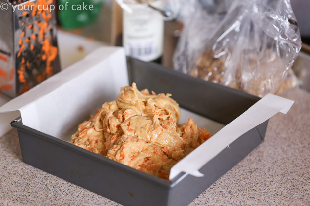 How to make Carrot Cake Blondie Bars