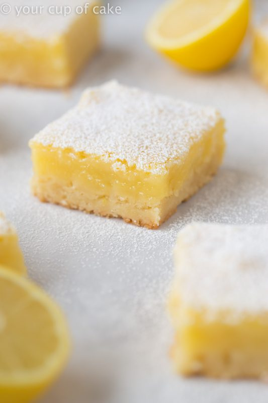you can't beat Classic Lemon Bars