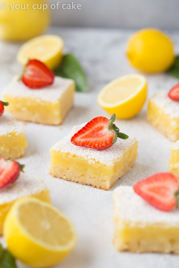 Ultimate Lemon Bars this recipe is the BEST!
