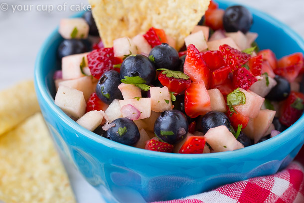 4th of July Fruit Salsa Recipe