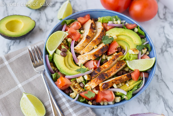 Chipotle Southwest Chicken Salad