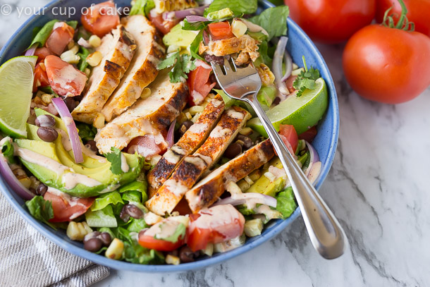 Chipotle Southwest Chicken Salad Recipe
