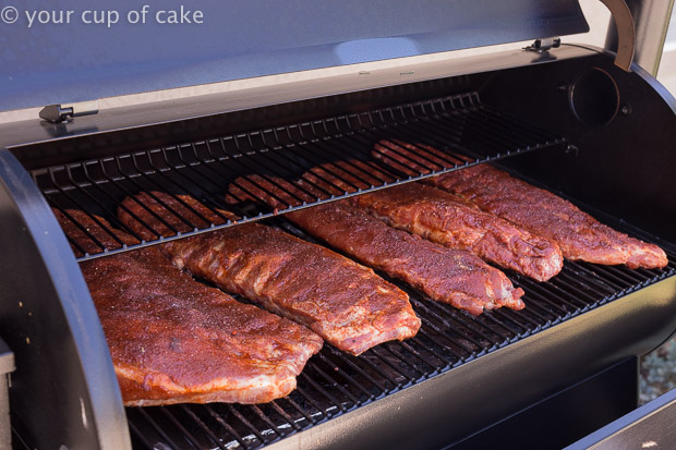 Smoking Ribs on a Traeger