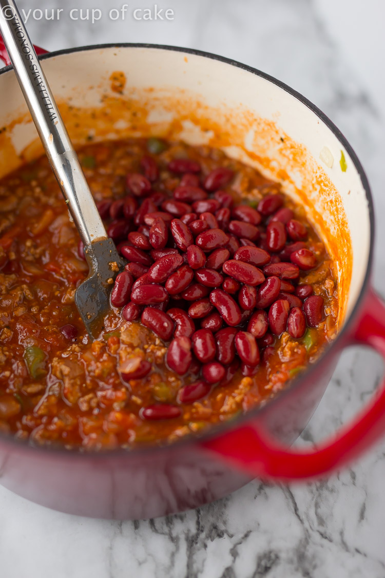 Easy chili recipe the whole family will love