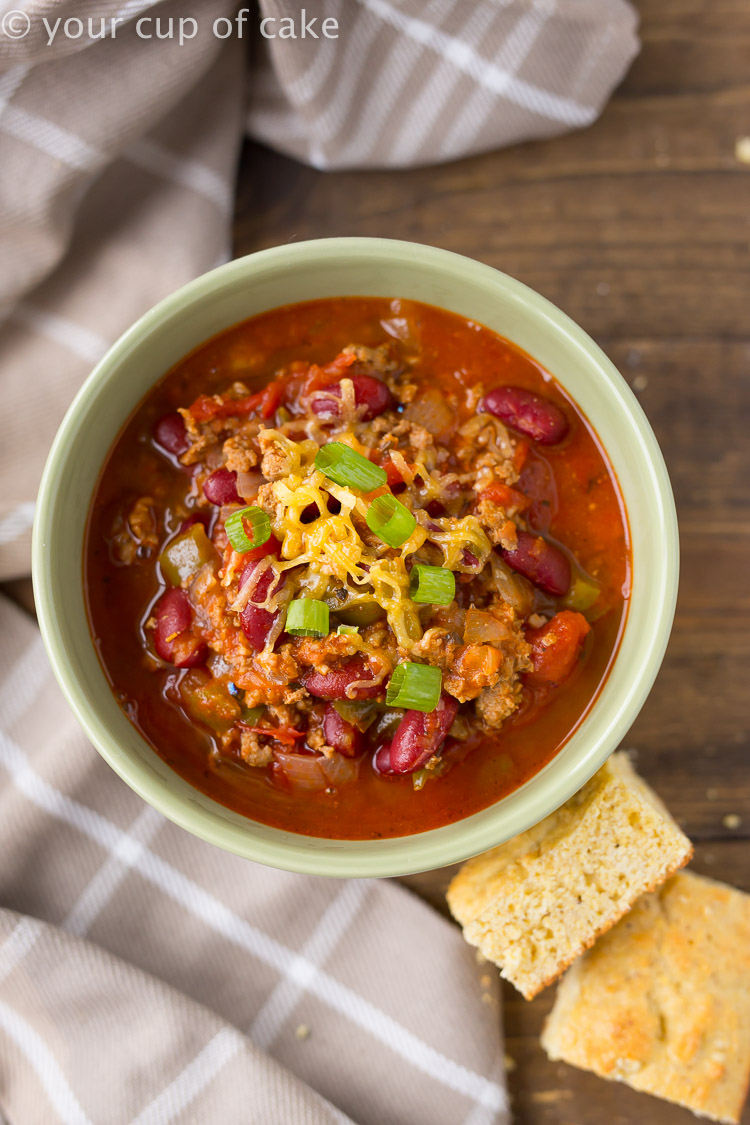 BEST Chili Ever Recipe and it's easy to make!
