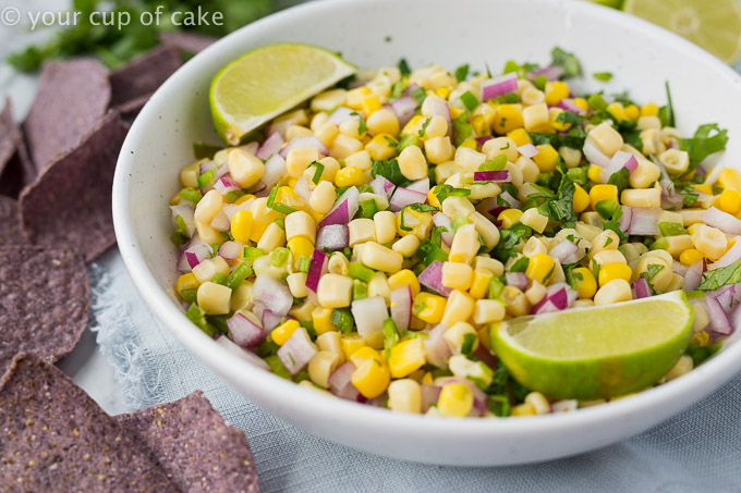 How to make Copycat Chipotle Corn Salsa