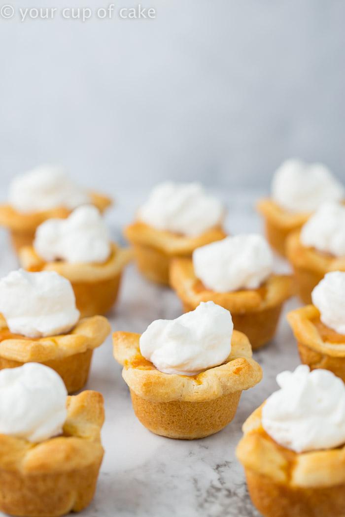 Pumpkin Pie Poppers Recipe