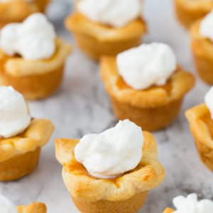 Pumpkin Pie Poppers for Thanksgiving