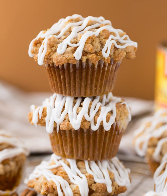 The Best Pumpkin Muffins Ever! These are better than bakery muffins, I'm obsessed with this recipe!