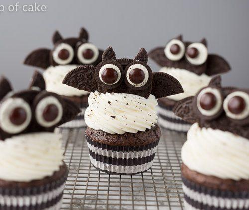 Halloween Bat Cupcakes.Oreo Bat Cupcakes For Halloween Your Cup Of Cake