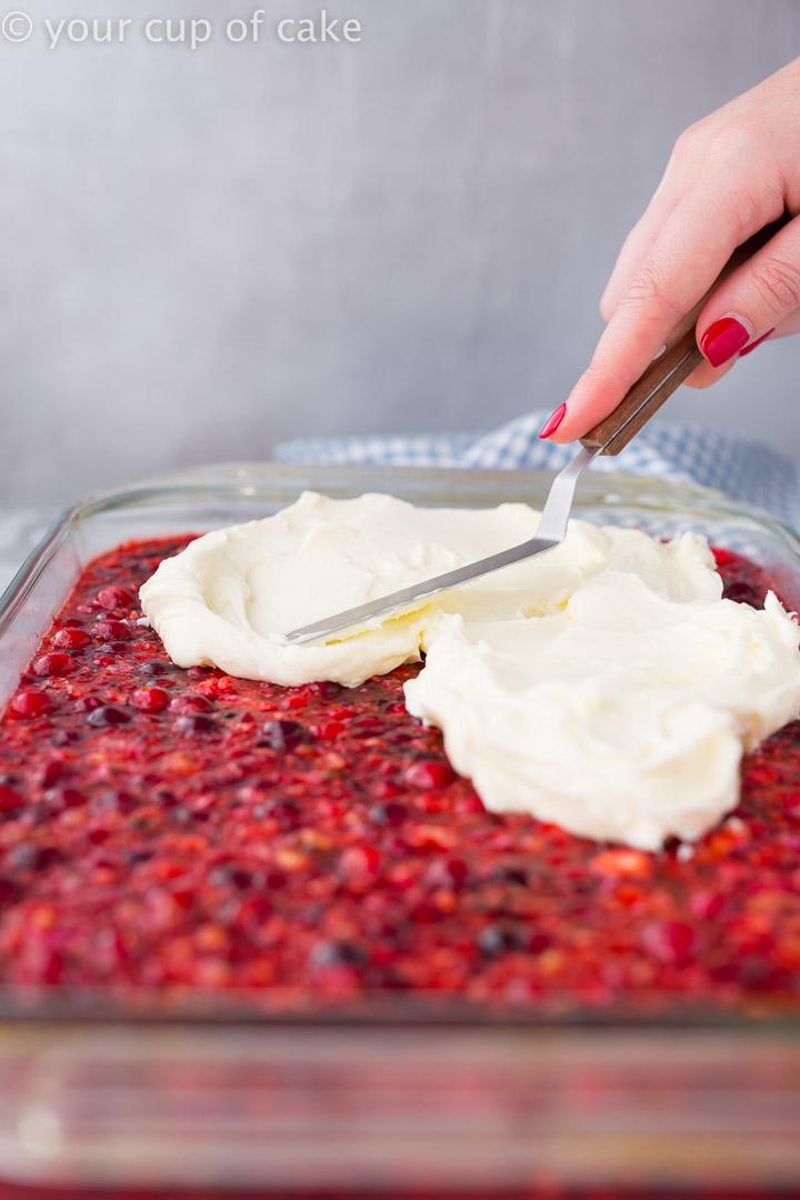 Love making this Grandma's Cranberry Pineapple Jello
