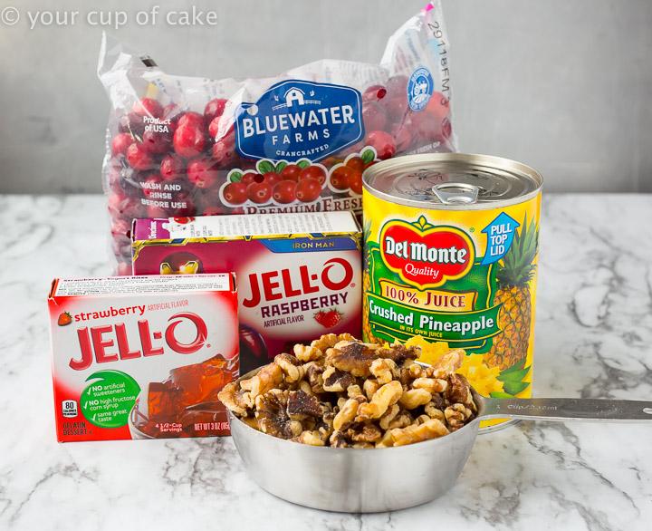 How to make Grandma's Cranberry Pineapple Jello