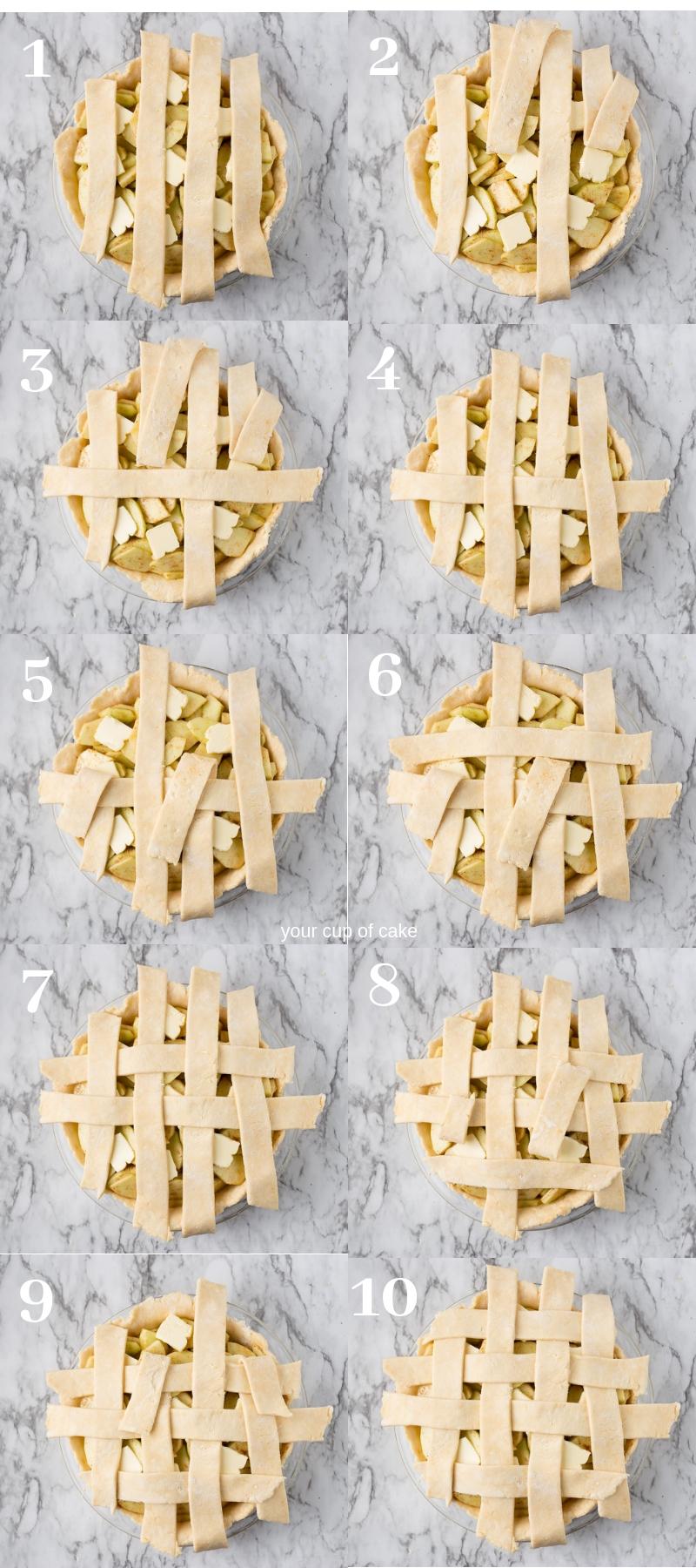 How to Lattice a Pie