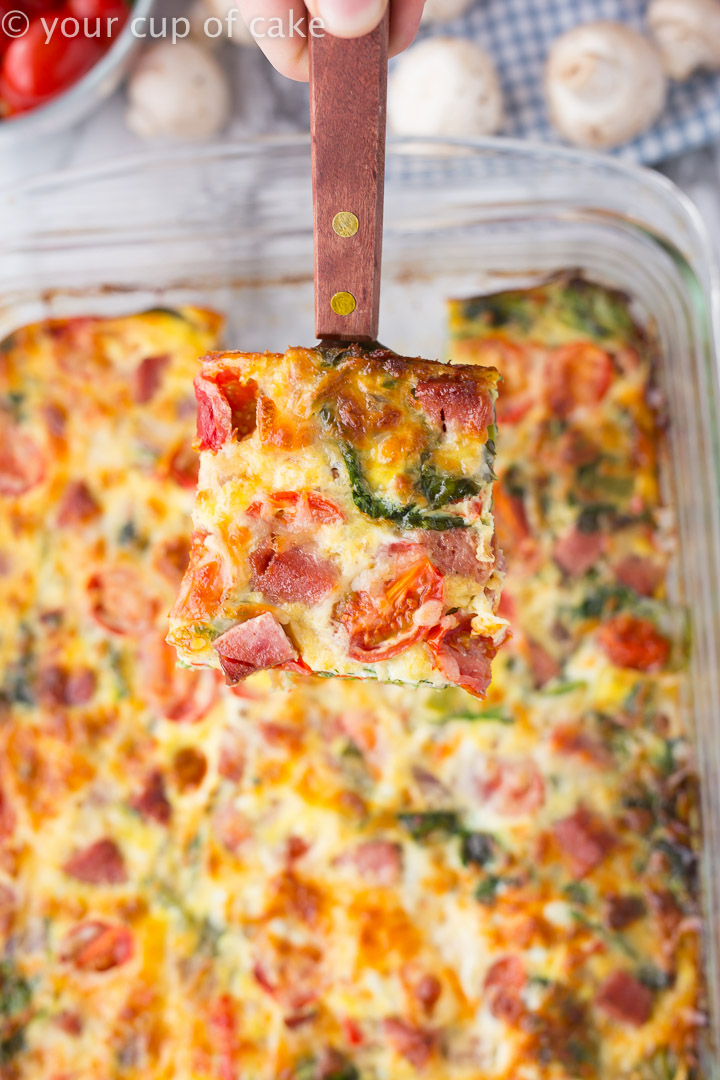LOVE this recipe! Easy Sausage Breakfast Casserole