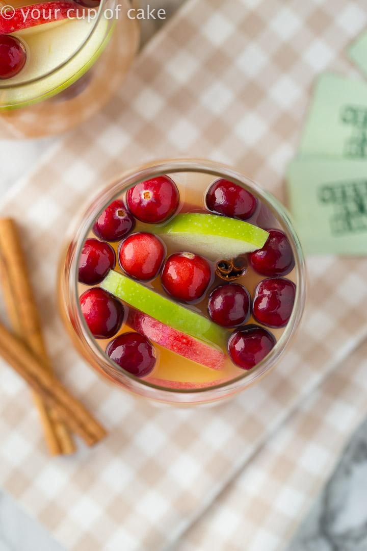 Sparkling Caramel Apple Cider Recipe