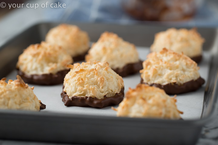Easy to make Coconut Macaroons