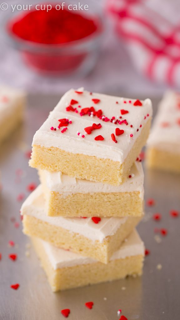 I'm obsessed with these! THE BEST Sugar Cookie Bars