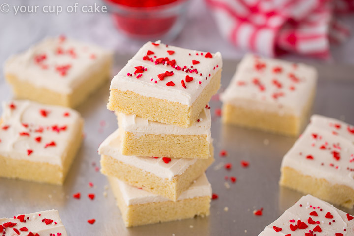 The recipe for THE BEST Sugar Cookie Bars