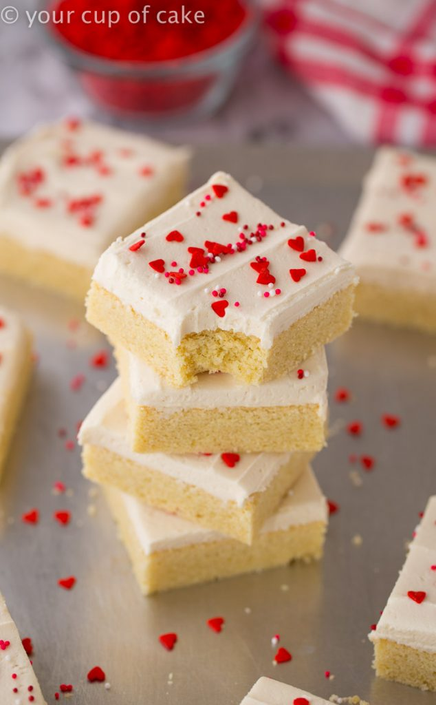 My family LOVES these! THE BEST Sugar Cookie Bars