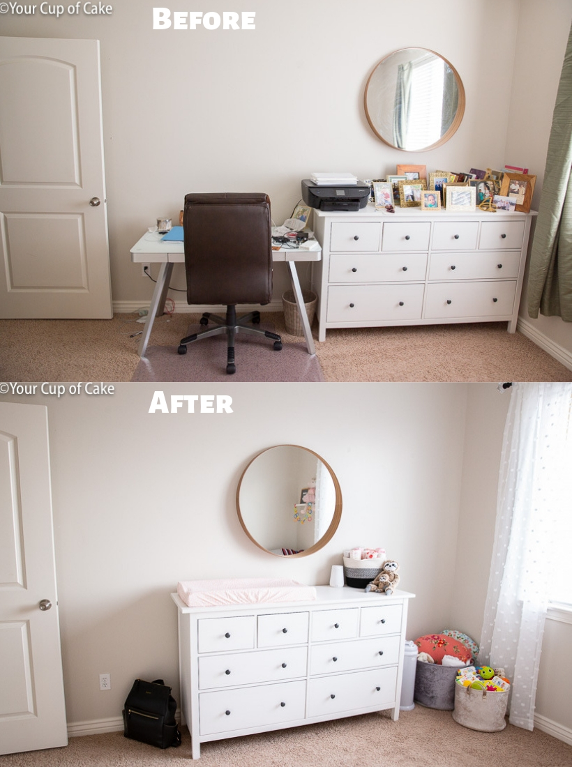 Nursery Makeover Ideas for Cheap