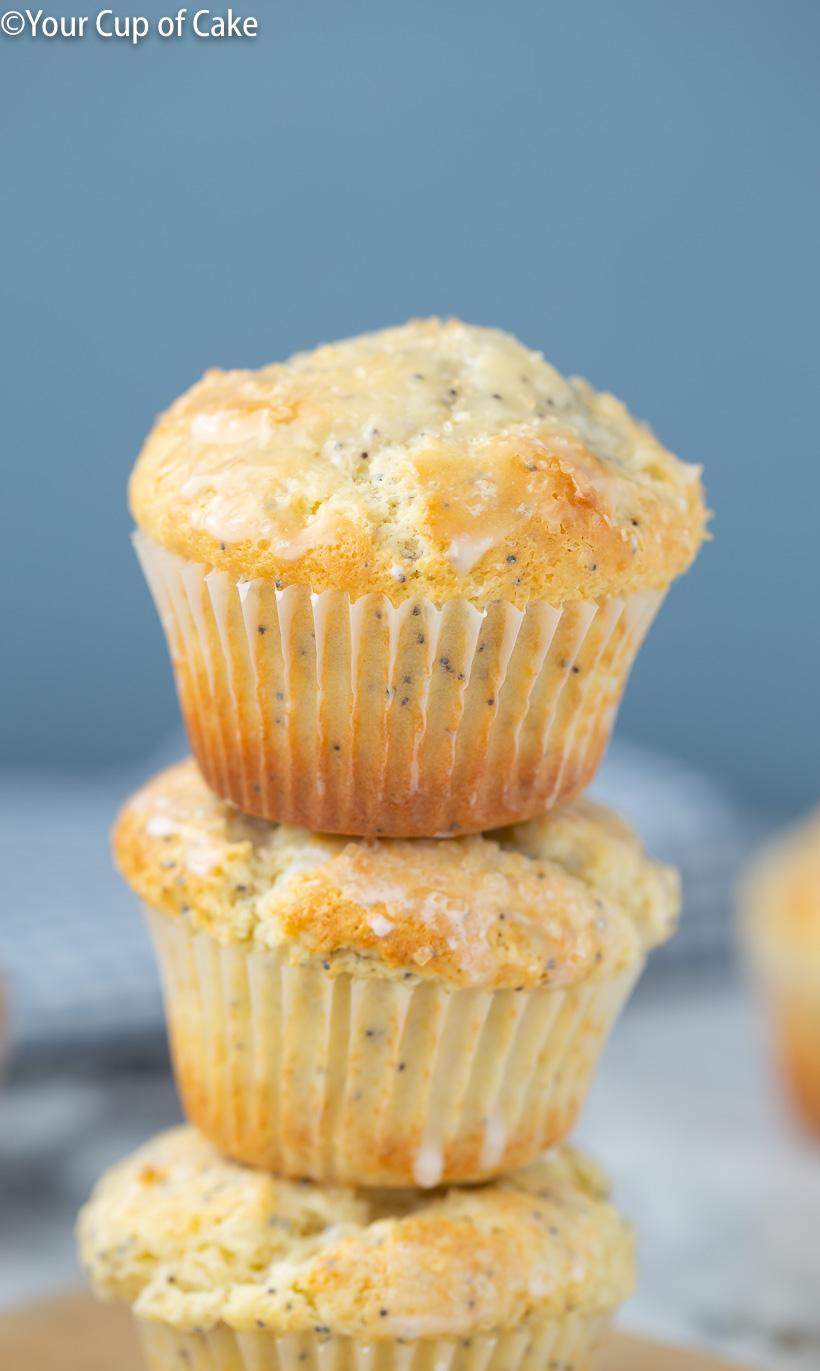 LOVE these! Better Than Costco Almond Poppy Seed Muffins