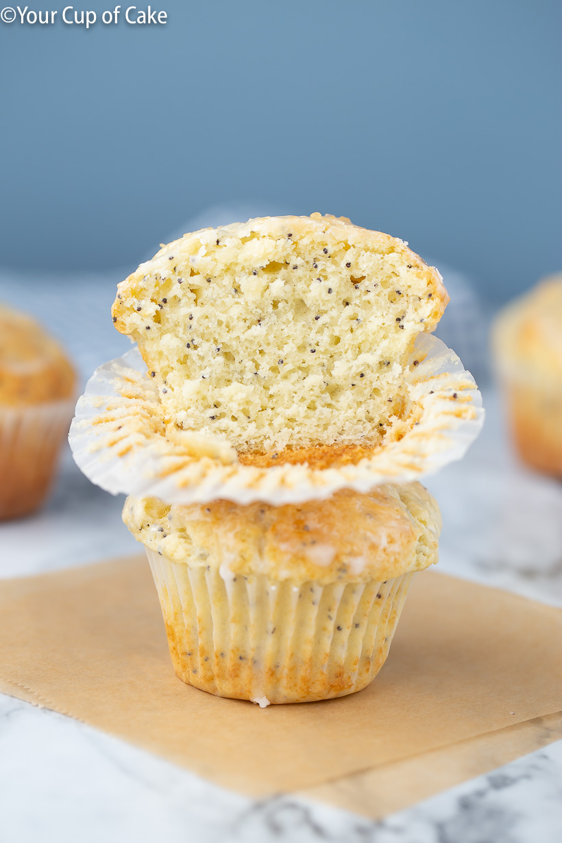 Better Than Costco Almond Poppy Seed Muffins, yum! Love this recipe