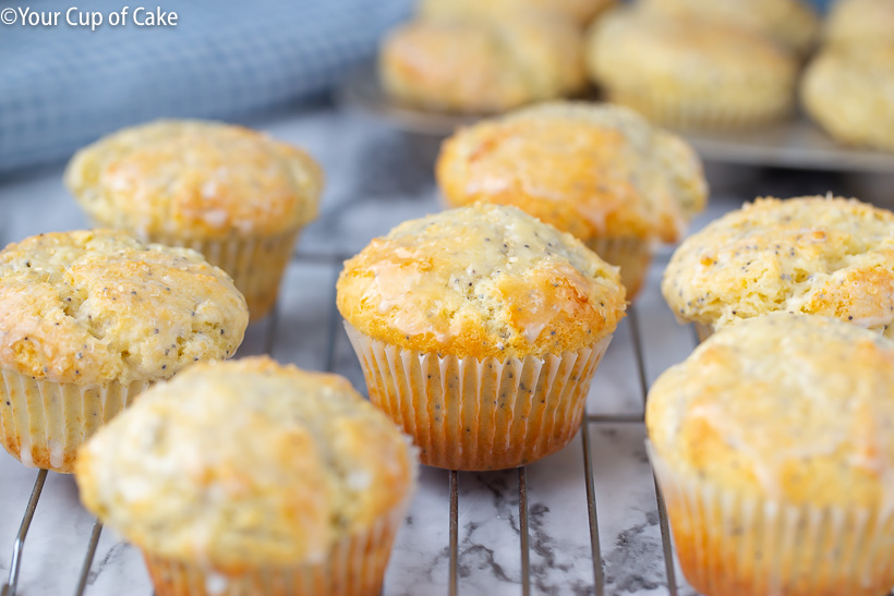 Better Than Costco Almond Poppy Seed Muffins