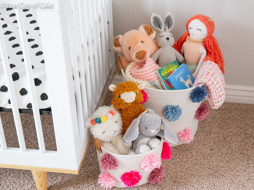 DIY Nursery Decor and Storage Ideas