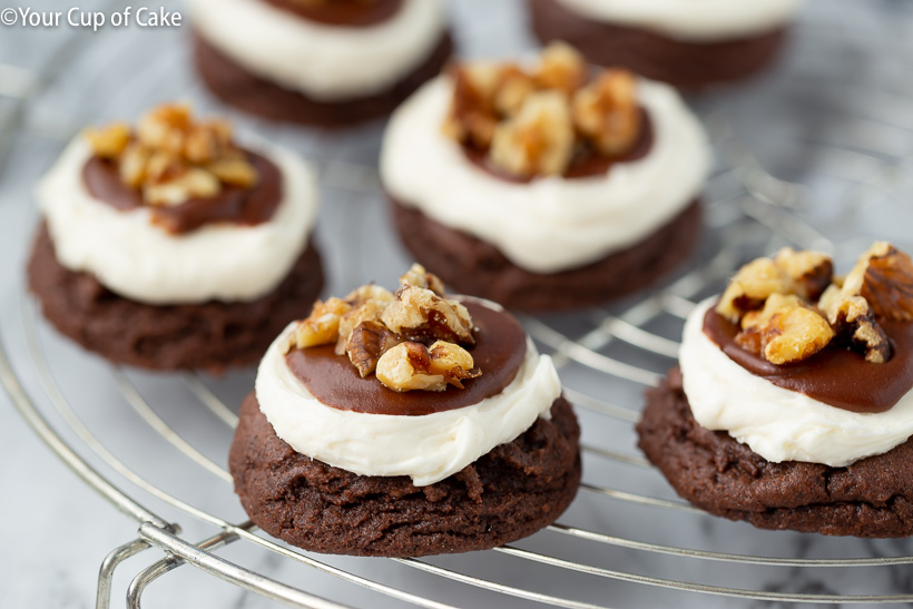 The BEST Cake Mix Mississippi Mud Cookies