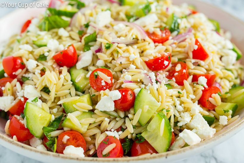 Easy dinner recipe, The Best Orzo Pasta Salad